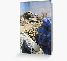 Firm ground... Greeting Card