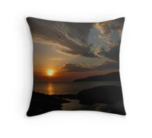 Secret Sunrise... Throw Pillow