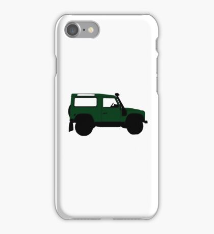 Land Rover Offender iPhone Case/Skin