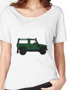 Land Rover Offender Women's Relaxed Fit T-Shirt