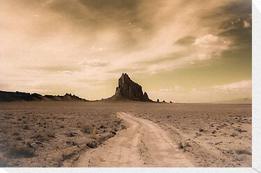 Shiprock by doorfrontphotos
