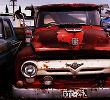 Red Truck by CJPhotos