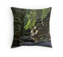 Trail #6 - Rock Formations Throw Pillow