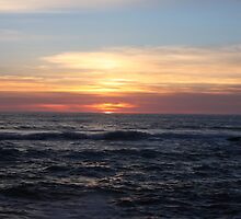 Yachats Sunset by Joe Powell
