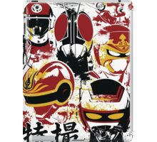 Tokusatsu Assemble 3 colors iPad Case/Skin
