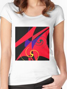 Colours B Women's Fitted Scoop T-Shirt
