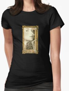She Waits Womens Fitted T-Shirt