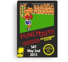 Floyd Mayweather, Jr. Nintendo Punch out parody !!! Canvas Print