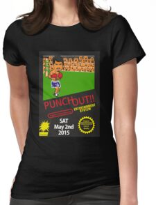 Floyd Mayweather, Jr. Nintendo Punch out parody !!! Womens Fitted T-Shirt