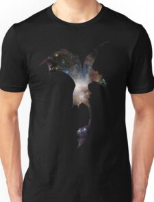 Toothless Silhouette - Galaxy Print Unisex T-Shirt