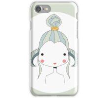 Horoscope Aries sign, girl iPhone Case/Skin