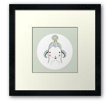 Horoscope Aries sign, girl Framed Print