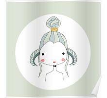 Horoscope Aries sign, girl Poster