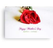 Mothers day Canvas Print