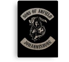 Sons of Anfield - Johannesburg South Africa Canvas Print