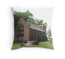 Jamestown Church, Jamestown, VA Throw Pillow