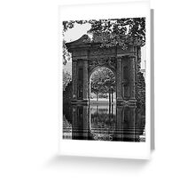 Arch on the grounds of Heidleburg Castle Greeting Card