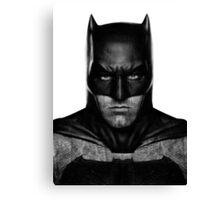 Batman by Ben Affleck Canvas Print