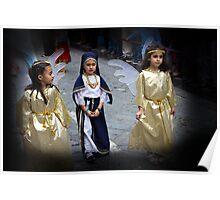 Cuenca Kids 625 - Watercolor Poster