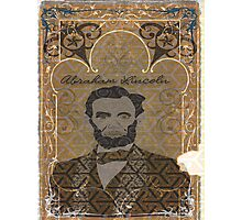 Abraham Lincoln Portrait Photographic Print