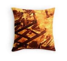 REDREAMING FIRE FASCINATION Throw Pillow