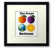 The Front Bottoms Peach Framed Print