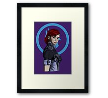 Commander Shepard Framed Print