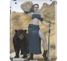 Stone Giant, part of the Giants series iPad Case/Skin