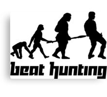 Beat Hunting Canvas Print