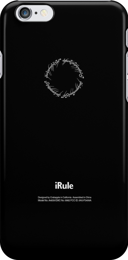 One Ring iRule Phone Case by huckblade
