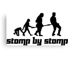 Stomp by Stomp Canvas Print