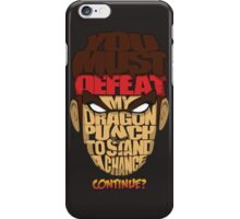 Ryu Wins iPhone Case/Skin