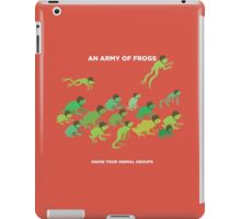 An Army of Frogs iPad Case/Skin