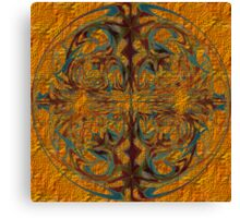 Bubble of Thought on the Fabric of Time Canvas Print