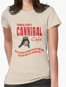 Cannibal Cafe Womens Fitted T-Shirt