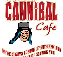 Cannibal Cafe by TRStrickland