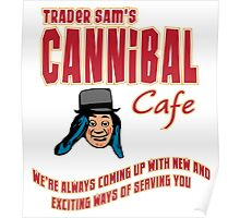 Cannibal Cafe Poster