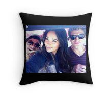 Ian & Shay & Keegan Throw Pillow