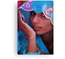 The Sari  Part 3 Canvas Print
