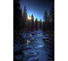 Icebound Glimmer Photographic Print