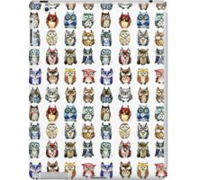 19 Owls and 1 Cat iPad Case/Skin