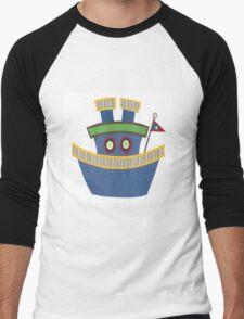 Kids Tugboat Men's Baseball ¾ T-Shirt