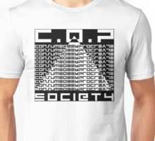 COP Society - Consume, Obey Procreate - They Live Unisex T-Shirt