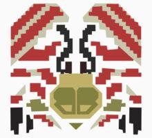 Monster Hunter - Daimyo Hermataur Icon Kids Clothes