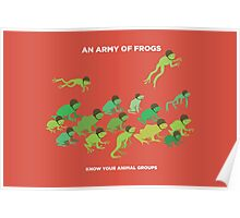 An Army of Frogs Poster