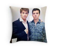 Keegan & Ian Throw Pillow