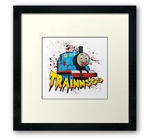 TRAINNSSS Framed Print