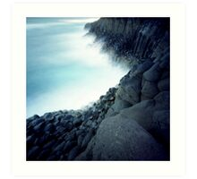 Fingal Cliffs Art Print