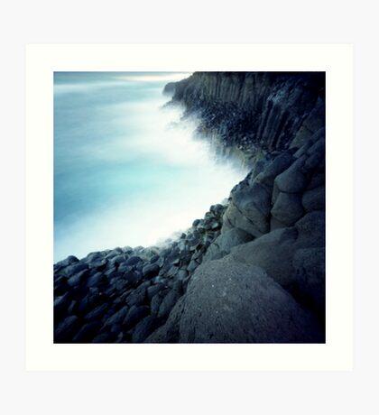 Fingal Cliffs Art Print