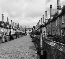 14th Century Vicar's Close In Wells Somerset by Ian Mooney